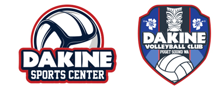 DaKine Volleyball Club Retina Logo
