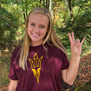 Maia Nichols Verbally Commits to Arizona State Beach!