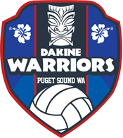 Da Kine Volleyball Club Logo